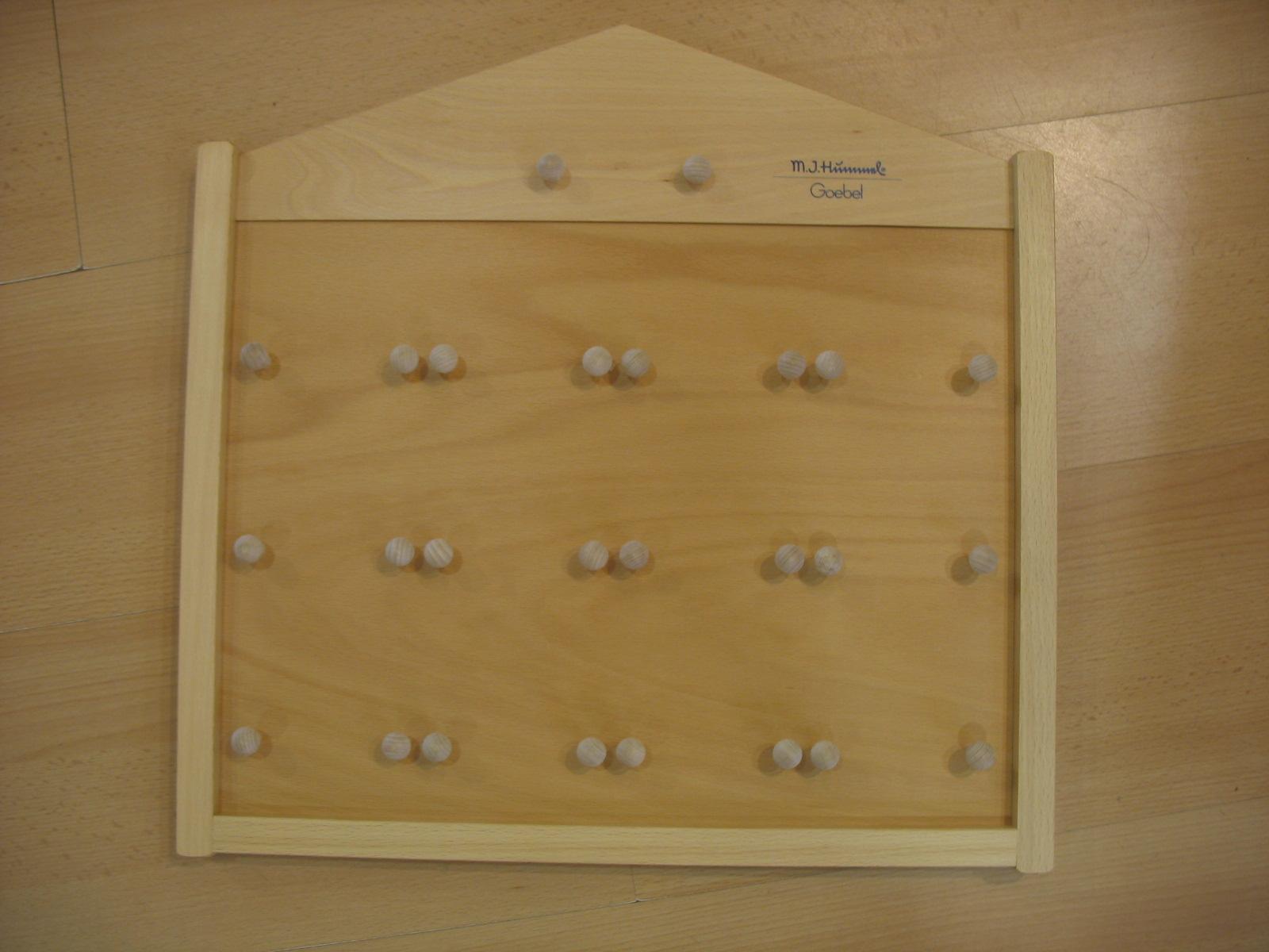 Wandbrett Oberteil Mini-Teller
