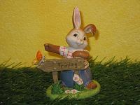 Goebel Hase  #559  Hier geht´s zum Frühling  -  Wegweiser