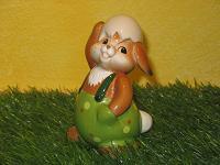 Goebel Hase  #595  Gut versteckt  -  ...Hase unter der Eierschale