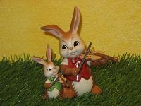Goebel Hase  #616  Geigenduett