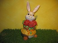 Goebel Hase  #625  Rote Rosen für Dich
