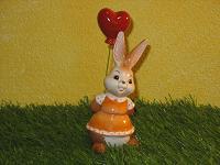 Goebel Hase  #646  Ein Luftballon von Herzen