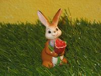 Goebel Hase  #663  Minihase  Erste Tulpe