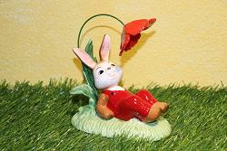 Goebel Hase  #705  Schattiges Plätzchen