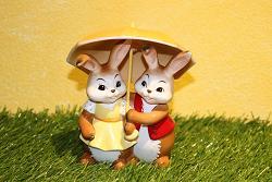 Goebel Hase  #716  Gemeinsam glücklich