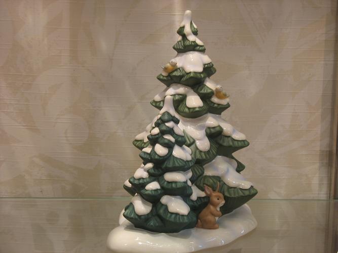 goebel engel weihnachtsb ume mit hase und v geln zur. Black Bedroom Furniture Sets. Home Design Ideas
