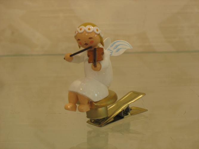 Engel auf Klemme mit Geige ------> Wendt & Kühn ONLINE - versandkostenfrei und auf Rechnung